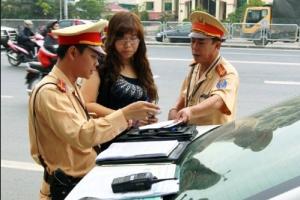 mức phạt các lỗi thông thường danh cho xe ô tô
