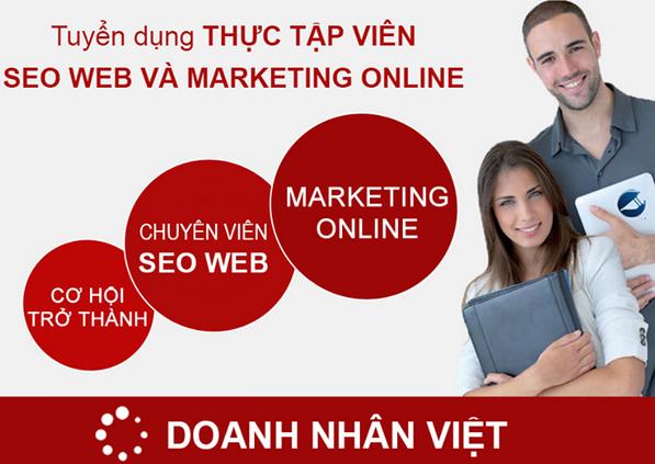 Tuyển thực tập sinh Seo Web và Marketing Online 2015