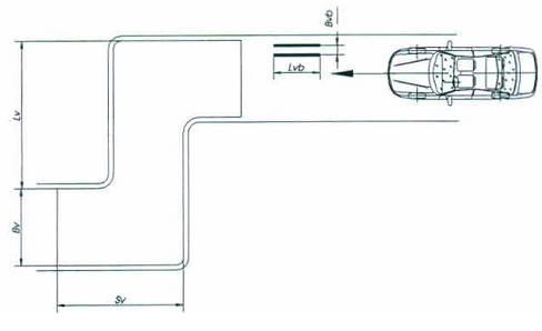 Sát hạch bài 4 : Qua vệt bánh xe và đường vòng vuông góc